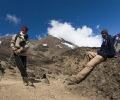De Shira Camp (3840 m) à Barranco Camp (3950 m) - Ascension du Kilimandjaro - Tanzanie