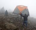 Barafu Camp (4600 m) dernier camp de base avant le sommet du Kilimandjaro - Tanzanie