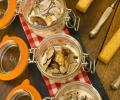Terrines de cèpes, foie gras et truffes - Lozère