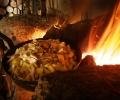 Poëlée de pommes de terre aux cèpes - Lozère